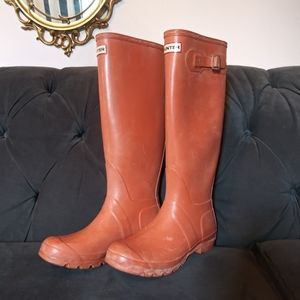 Hunter Boots Orange
